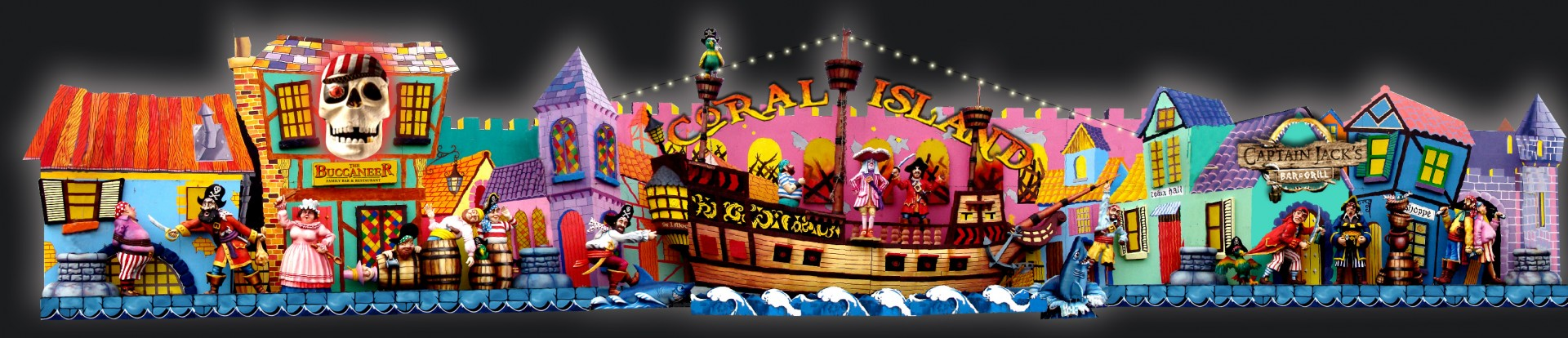 Coral Island tableaux visualisation